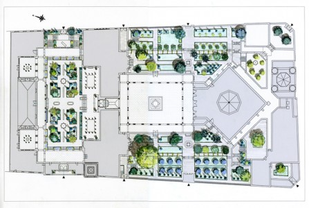 Grande Mosquee Paris Plan